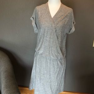 Lou & Grey faux wrapped dress